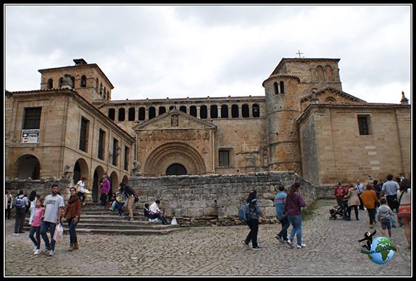 Colegiata de Santillana del Mar.