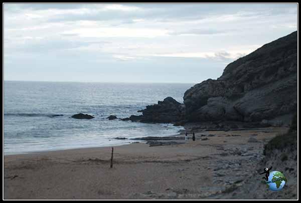 Playa de Suances en Cantabria.