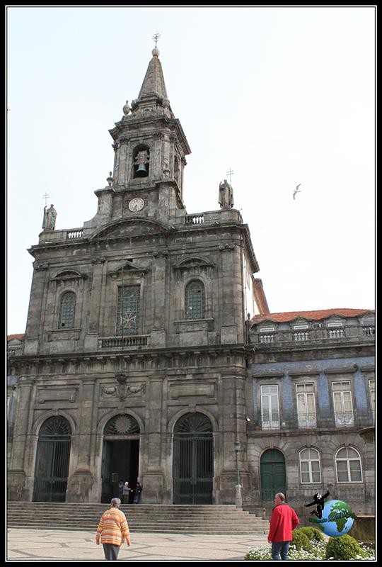 Igreja de Trinidade en Oporto.