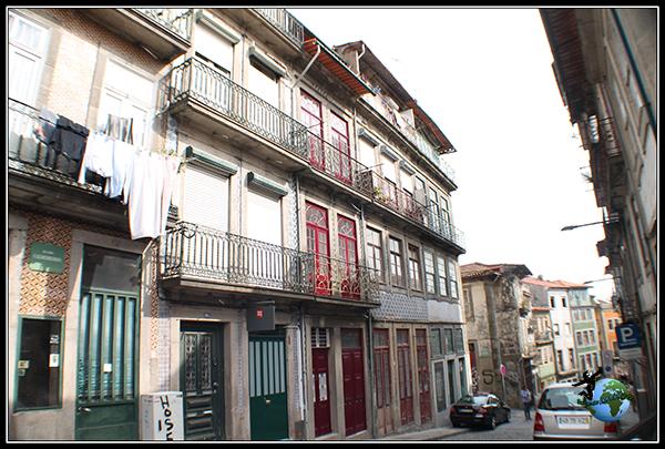 Casas típicas de Oporto.