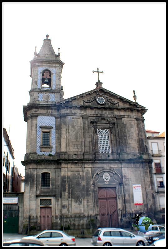 Igreja de São José Das Taipas en Oporto.