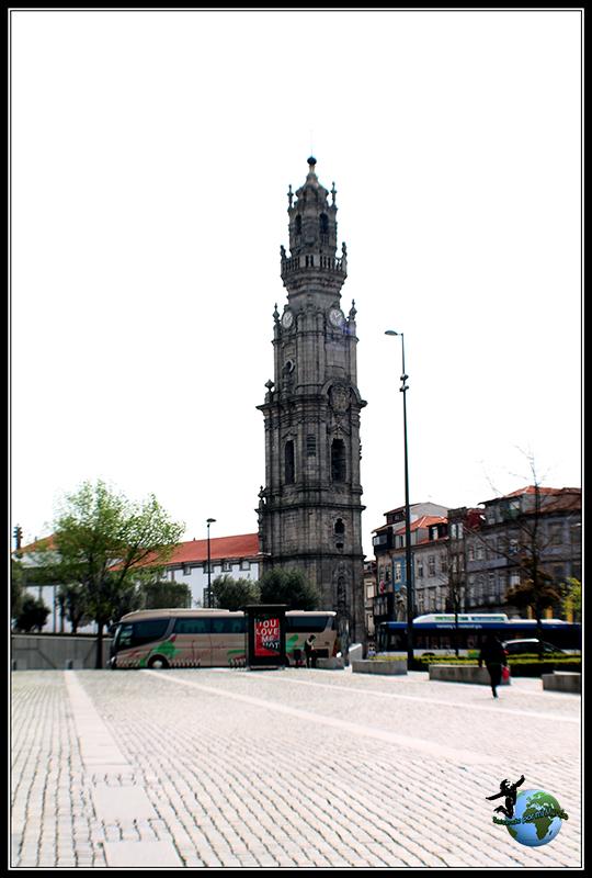 Torre de los Clérigos en Oporto.