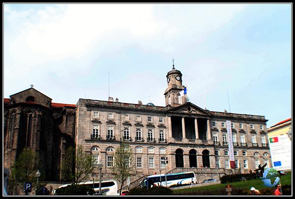 Palacio de la Bolsa de Oporto.