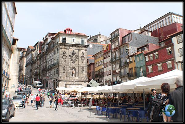 Recorriendo la Ribeira de Oporto.