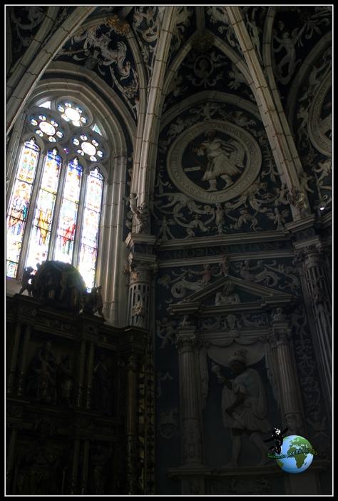 Una de las 20 capillas de la catedral de Palencia.