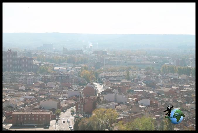 Vistas de Palencia desde el Cristo del Otero.