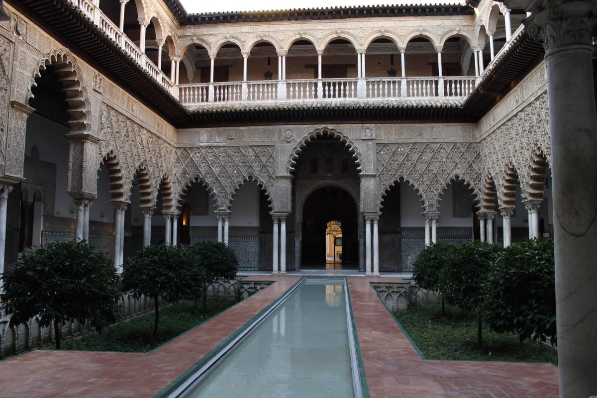 Sevilla Día 2- Alcázares de Sevilla, Monasterio de la Cartuja y recorremos la ciudad romana  de Itálica.
