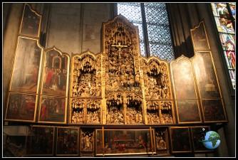 Interior de la CAtedral de Colonia.