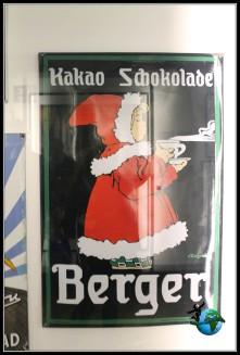 Referencias publicitarias en el Museo del Chocolate de Lindt en Colonia.