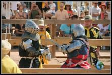 Combates Medievales en el Castillo de Belmonte.