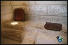 """Los """"retretes"""" de la época en el Castillo de Belmonte"""