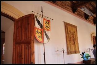 Interior del Castillo de Belmonte