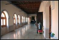 Interior del Castillo de Belmonte.