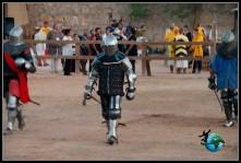 Combates Medievales grupales en el Castillo de Belmonte.
