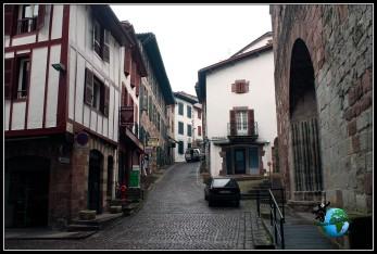 Paseando por Sant Jean de Pied de Port, Francia