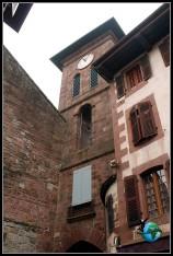 Puerta de Santiago en Sant Jead de Pied de Port, Francia