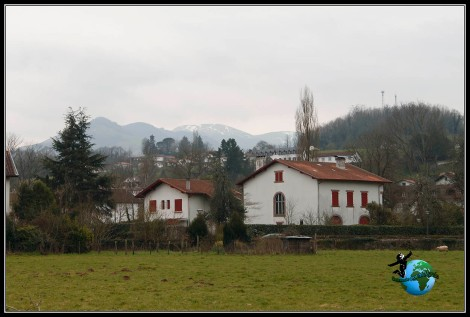 Otras zonas menos turísticas de Sant Jean de Pied de Port, Francia.