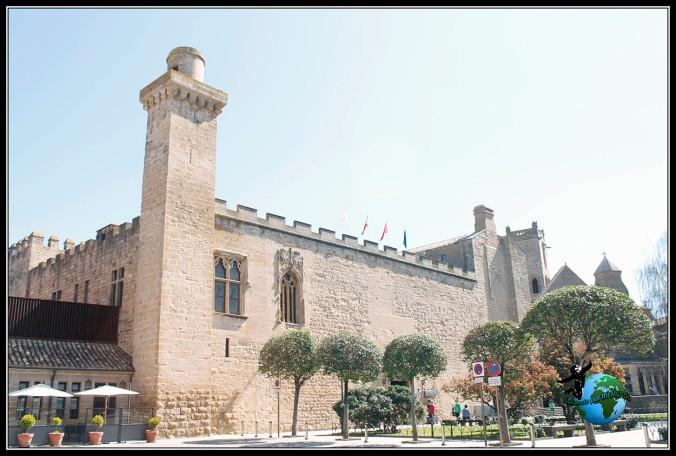 Paseando por Olite, Navarra