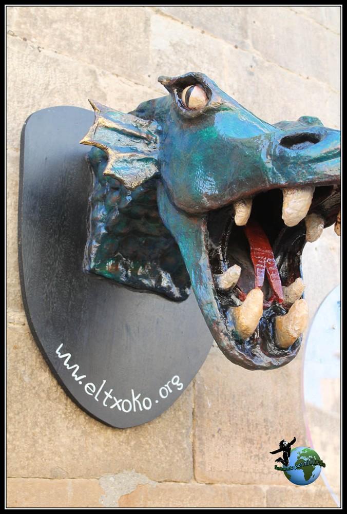 Dragon en Olite, Navarra