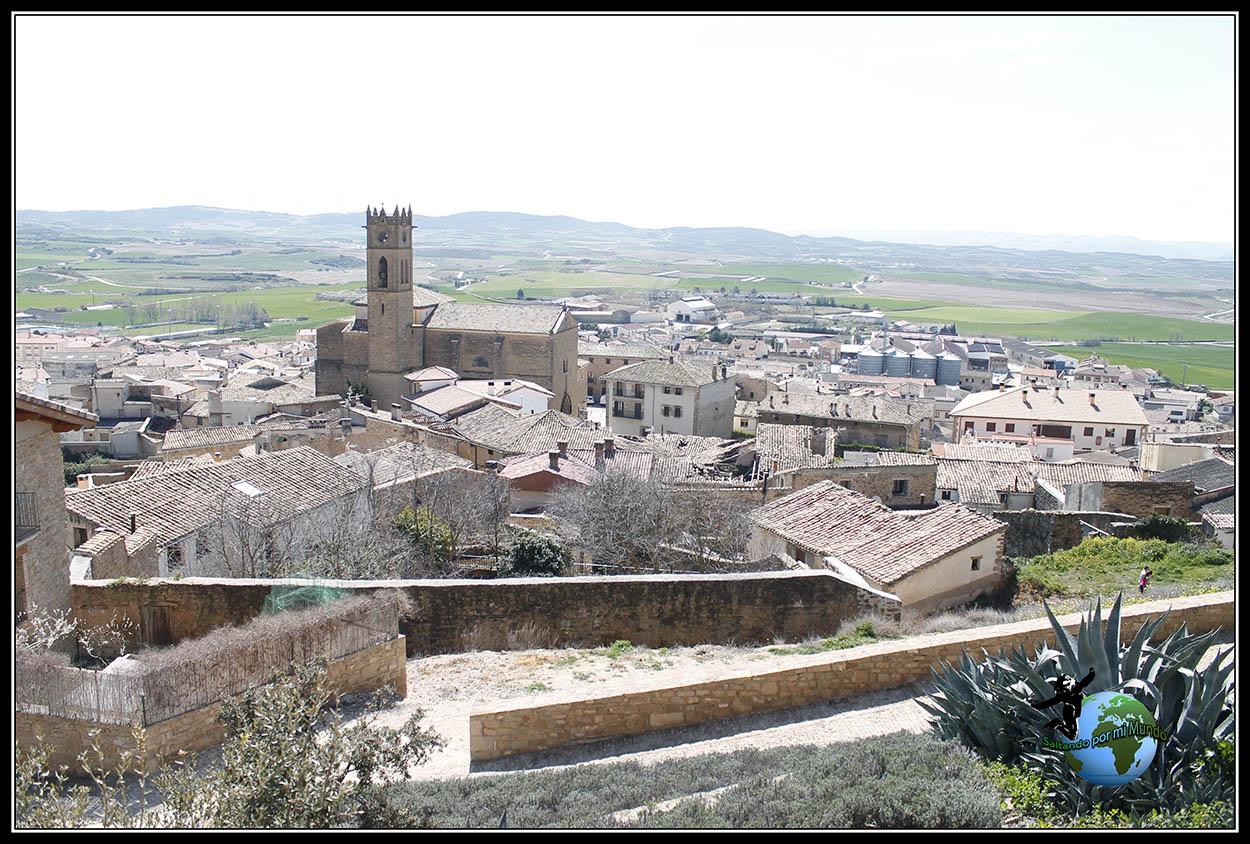 Vista desde las Torres de Artajona, Navarra
