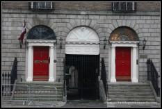 Puertas de colore en Dublin, Irlanda