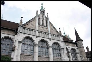 Museo Nacional Suizo en Zurich.
