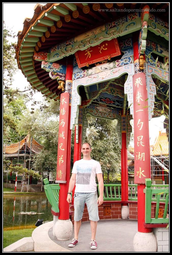 Pagodas en el Jardín Chino de Zurich