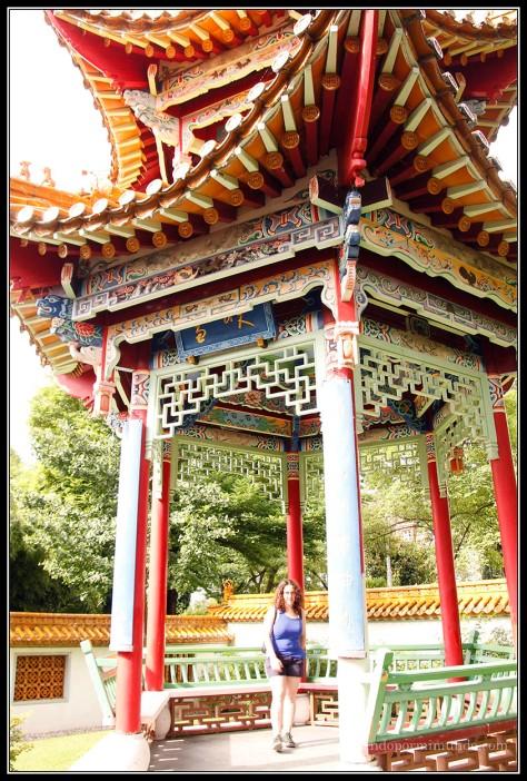 Jardín chino de Zurich.