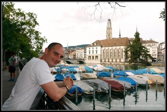 Recorriendo Zurich nuevamente,
