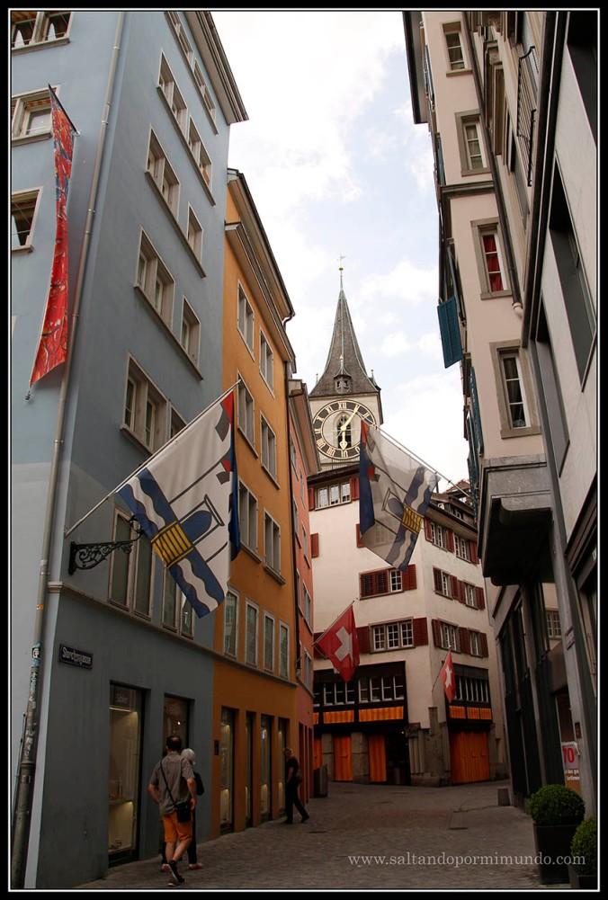 Callejeando por Zurich.