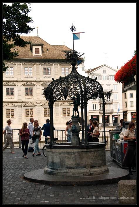 Fuentes preciosas en todas partes en Zurich