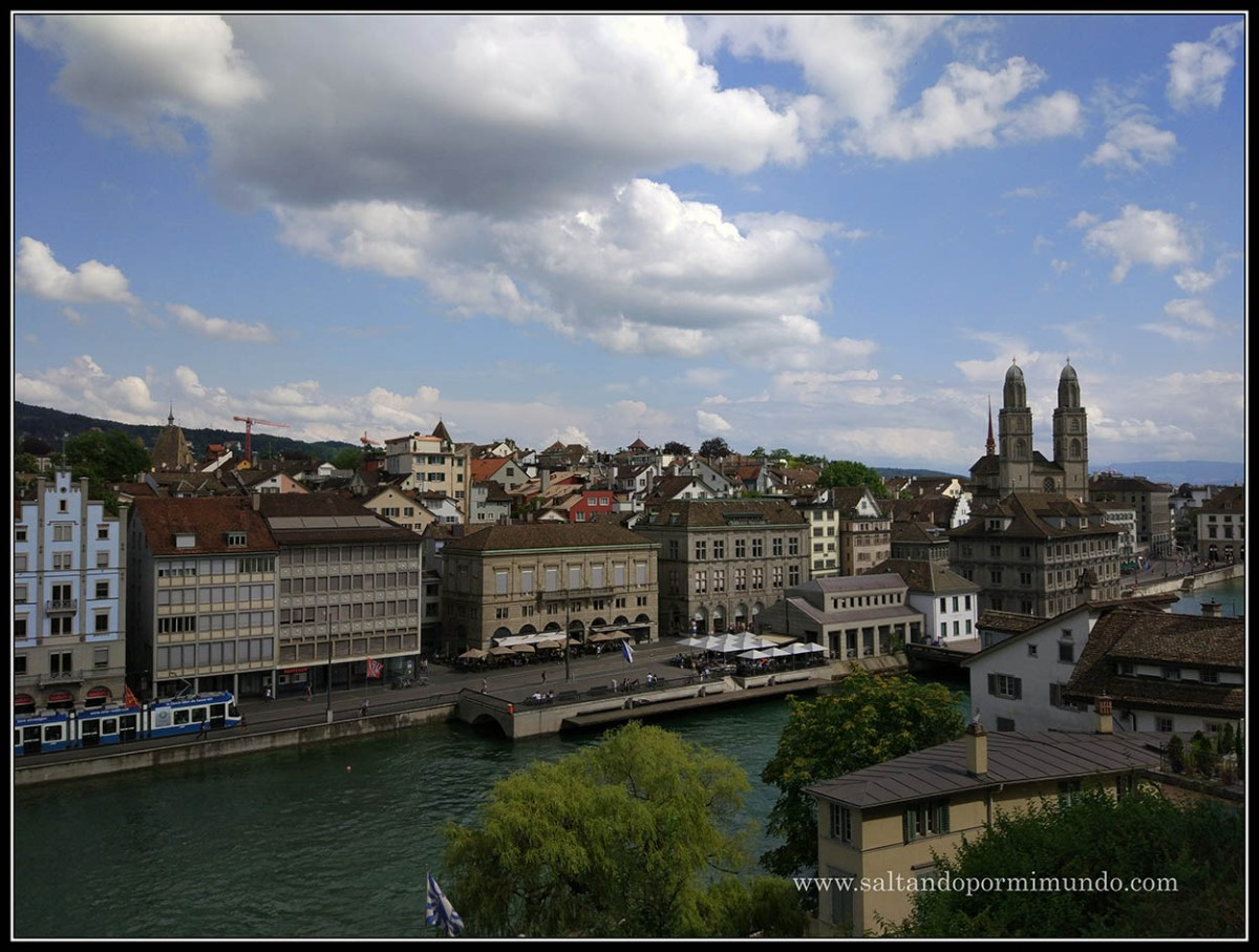 Día 2 suiza - Los mejores miradores de Zurich