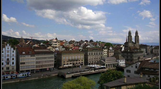 Día 2 suiza – Los mejores miradores de Zurich