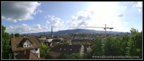 Mirador de la universidad de Zurich