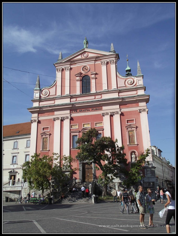 1531 - Frančiškanska Cerkev de Ljubljana dom25-9