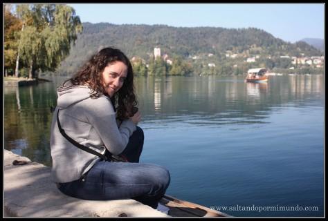 1838 - Patry en el lago Bled lun26-9