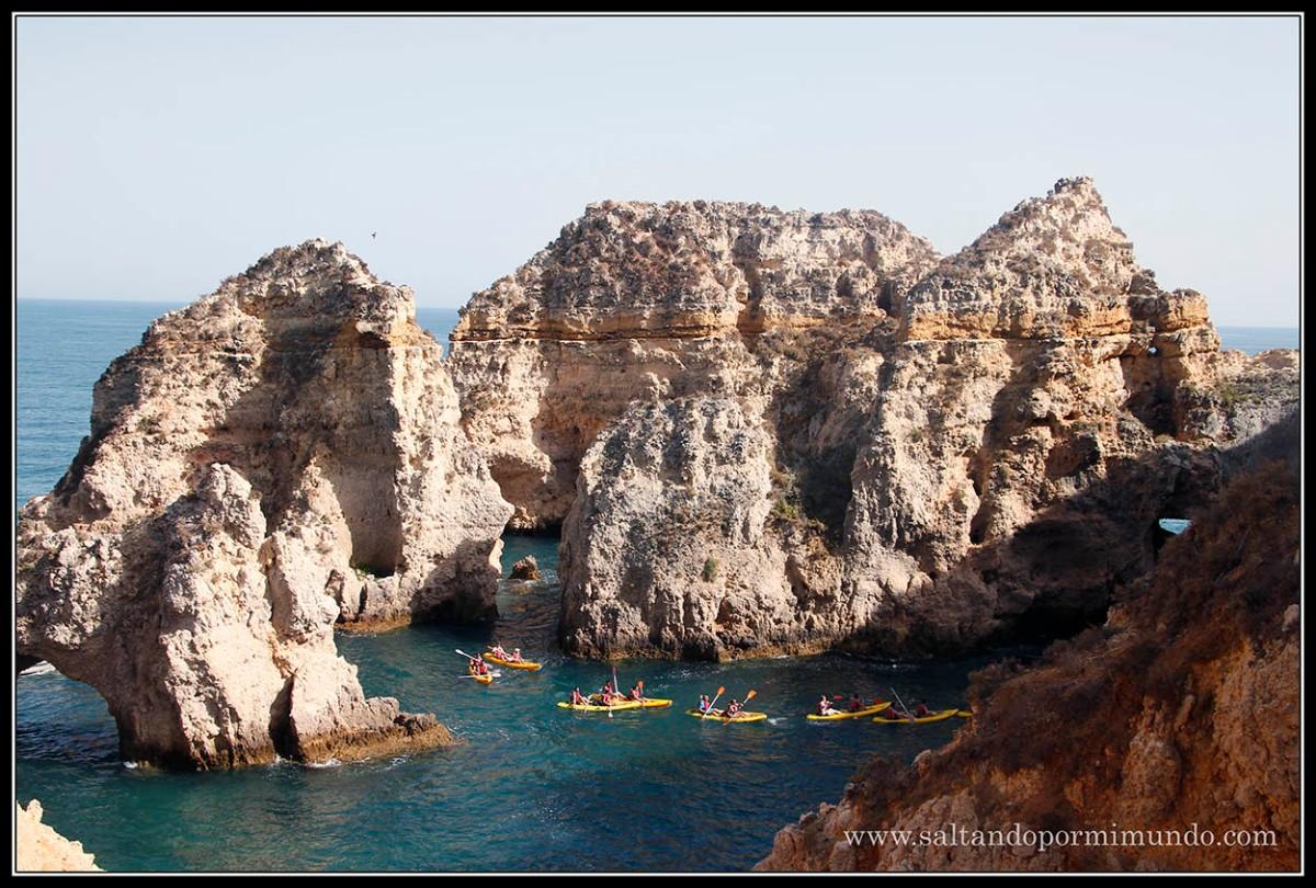 Dia 3 Algarve: Lagos, Praia da Ponte da Piedra, Praia de Pinhâo, Portimao, Praia da Rocha