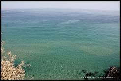 Playas de agua azul turquesa en Algarve.