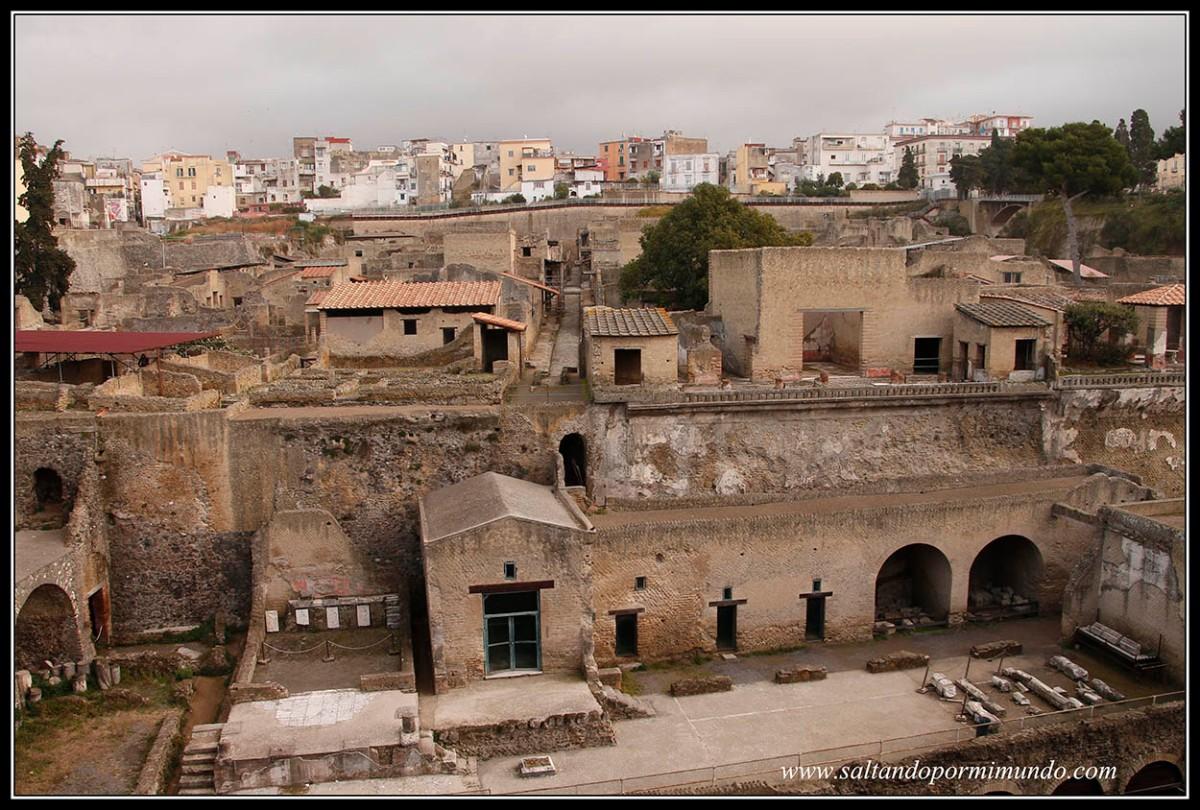 Nápoles,Pompeya y Herculano. Día 2. Herculano y Pompeya. Qué ver en Herculano.