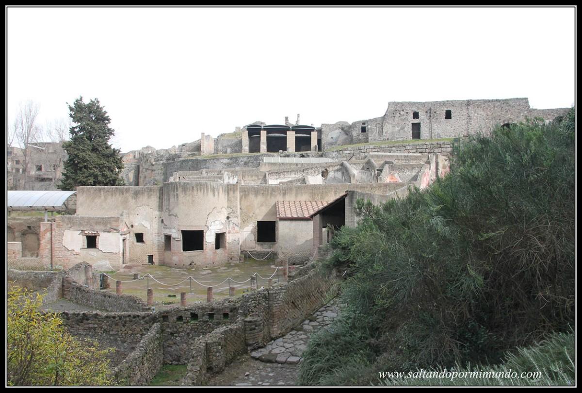 Nápoles,Pompeya y Herculano. Día 2. Herculano y Pompeya. Que ver en Pompeya.