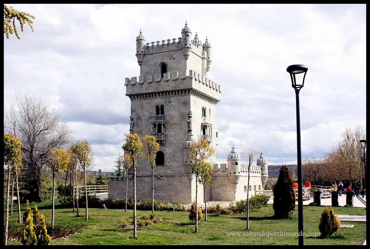 Torre de Belém en el Parque Europa de Torrejón de Ardoz