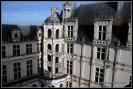 Terrazas exteriores del castillo de Chambord