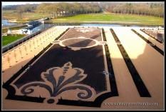 Jardines exteriores del Castillo de Chambord.