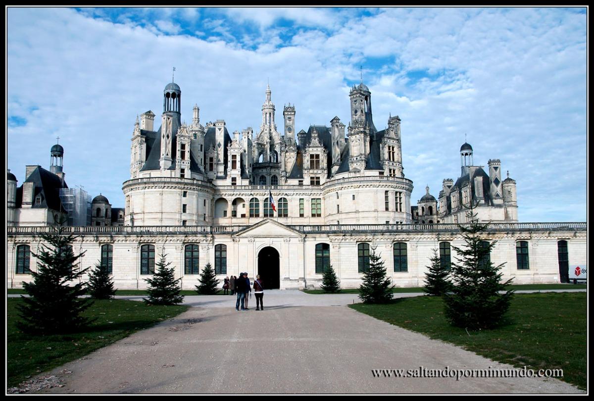 El Castillo de Chambord, uno de los Castillos más bonitos del Valle del Loira.