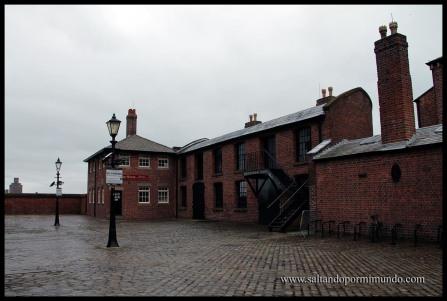 Casa Museo en el puerto de Liverpool.