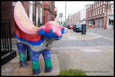 Streer art en Liverpool.