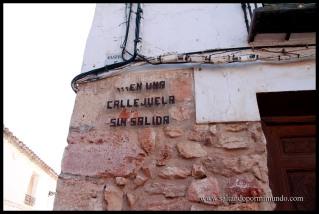 Ruta literaria en El Toboso, Toledo.
