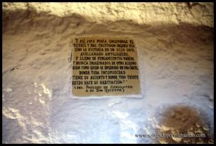 Escritos en la cueva del Medrano, Argamasilla de Alba