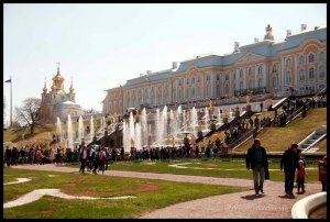 Qué ver cerca de San Petersburgo. Palacio y jardines de Peterhof.