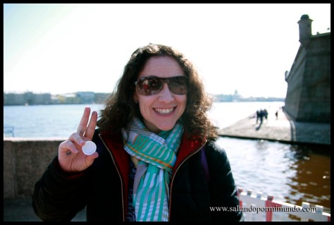Feliz en San Petersburgo